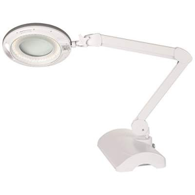 Magnifying Glass with Light on Stand