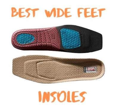 insoles for wide feet