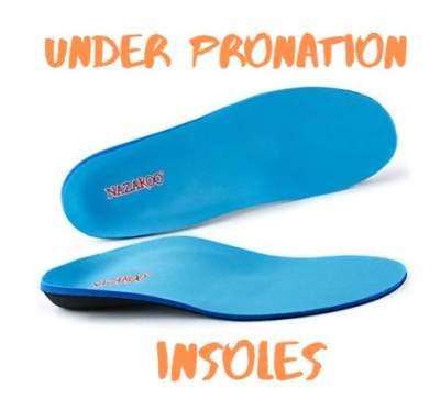 Under pronation insoles