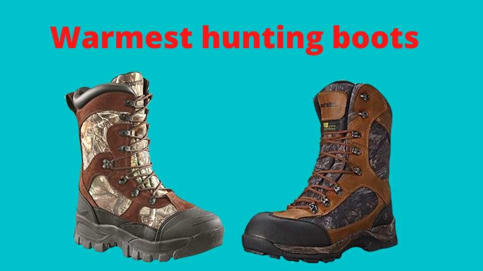 Warmest hunting boots for sitting in a tree stand