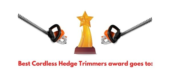4 Best Cordless Hedge Trimmers