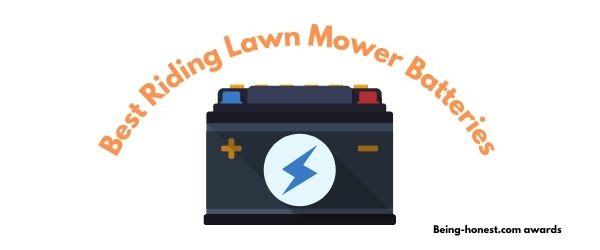 Best Riding Lawn Mower Batteries